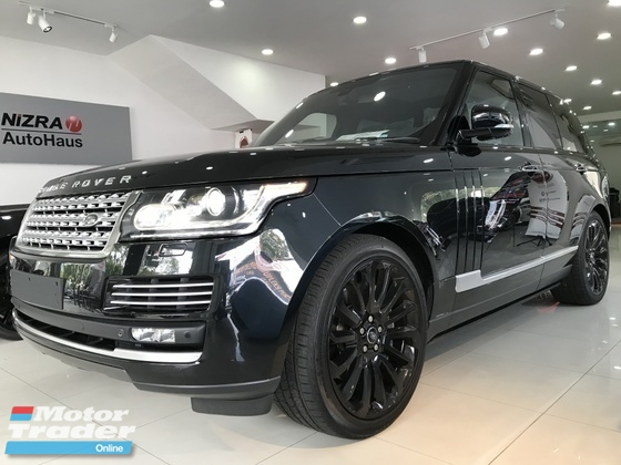 2014 LAND ROVER RANGE ROVER VOGUE 5.0l V8 SV8 AUTOBIOGRAPHY SWB FULL SPEC UK