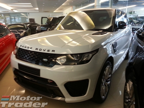 2015 LAND ROVER RANGE ROVER SPORT 5.0 SVR 550HP LIMITED EDITION