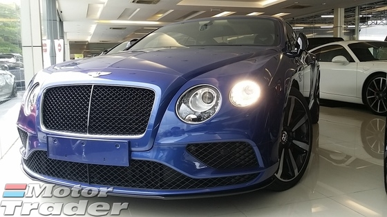 2016 BENTLEY GT 4.0 V8S FACELIFT