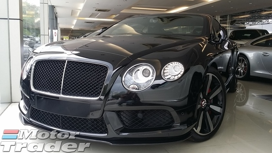 2014 BENTLEY GT 4.0 V8 S COUPE