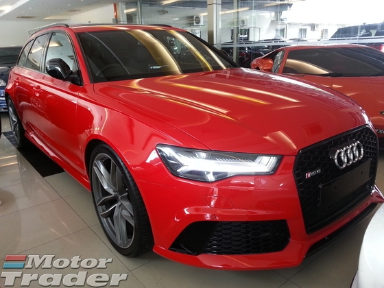 2016 AUDI RS6 V8 TFSI QUATRRO UNREG NEW MODEL