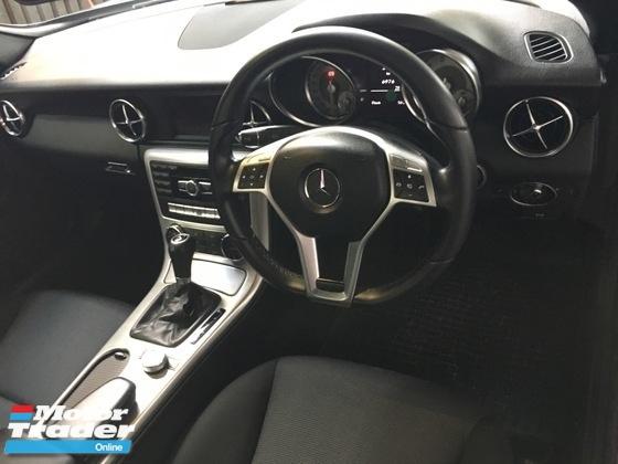 2015 MERCEDES-BENZ SLK Unreg Mercedes Benz SLK200 1.8 turbo Convertible Top 7G