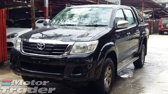 2012 TOYOTA HILUX 2.5 (A) G Spec Citydrive 1Owner