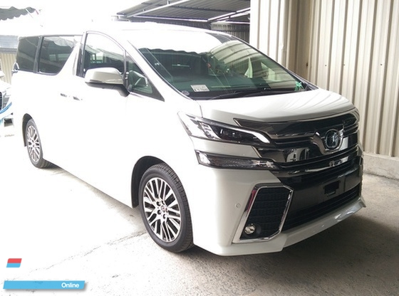 2016 TOYOTA VELLFIRE 2.5 ZG Edition Full Spec