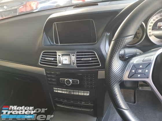 2014 MERCEDES-BENZ E-CLASS E200 Coupe AMG Spec Local AP Unreg