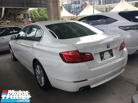 2014 BMW 5 SERIES Unreg BMW 520i 2.0 Turbo 8speed Camera Keyless Push Start Engine