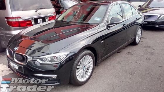 2016 BMW 3 SERIES 318i F30 (A)