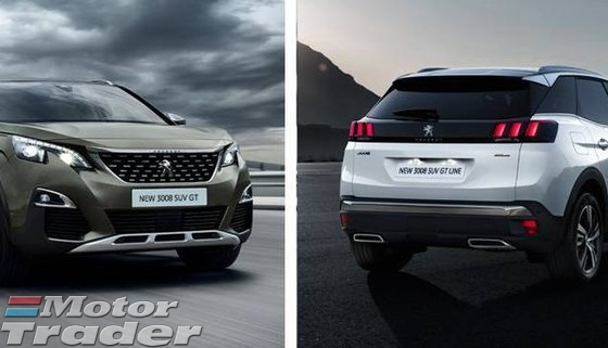 2017 PEUGEOT 3008 ALL NEW PEUGEOT 3008 SUV LOOKING FOR YOU
