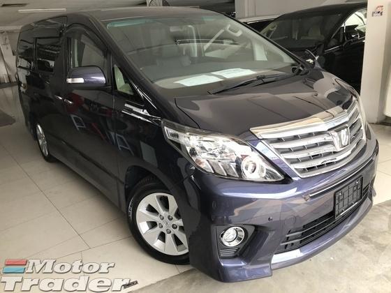 2013 TOYOTA ALPHARD Toyota Alphard SC EDT 2.4 (A)