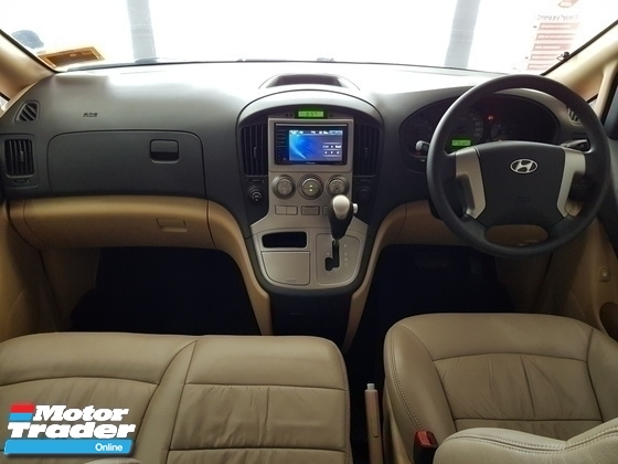 2010 HYUNDAI STAREX FACELIFTED GRAND ROYALE SPEC 1 VVIP OWNER
