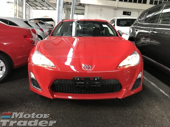 2014 TOYOTA FT-86 TOYOTA 86 2.0 GT 2 DOORS JAPAN 2014 UNREG