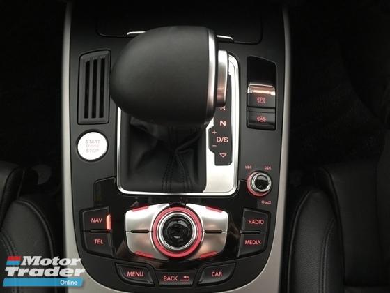 2013 AUDI A5 COUPE 2.0 TFSI QUATTRO (UNREG)