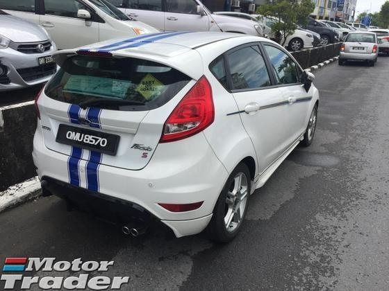 2012 FORD FIESTA XTR SPORTS LIMITED EDITION