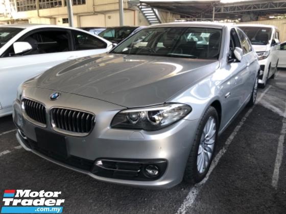 2014 BMW 5 SERIES Unreg BMW 520i 2.0 Turbo Camera Keyless Push Start 8Speed SST Deduction