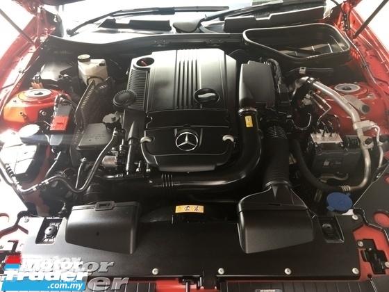 2015 MERCEDES-BENZ SLK Unreg Mercedes Benz SLK200 1.8 AMG Turbo Convetible Top 7G