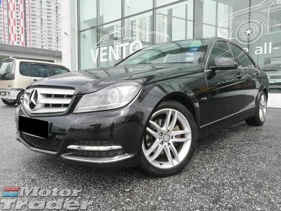 2012 MERCEDES-BENZ C-CLASS C250 BLUE EFFICIENCY AVANTGARDE