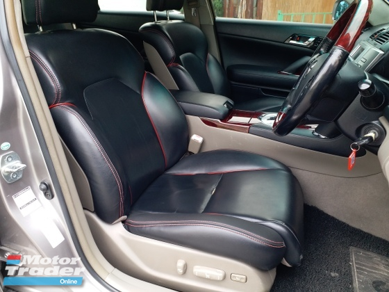 2005 TOYOTA MARK X LEATHER SEAT ELECTRIC SEAT 1 OWNER TAKE CARE LIKE NEW CAR