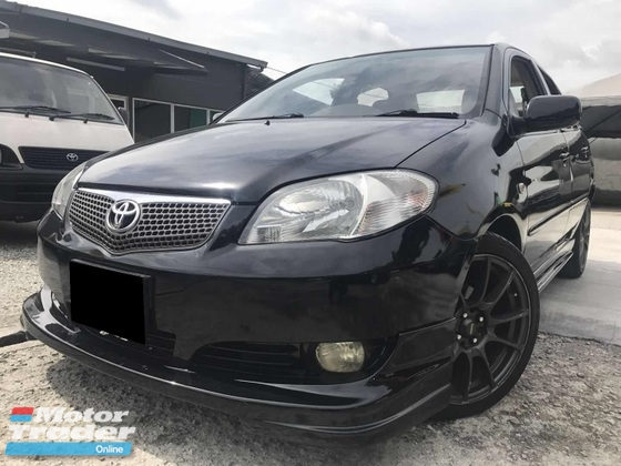 2007 TOYOTA VIOS 1.5 EVVTI SPORT RIMS DVD PLAYER