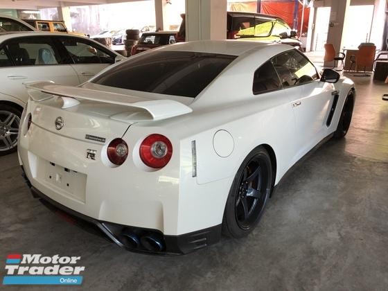 2013 NISSAN GT-R GTR R35 3.8 Black Edition Unreg IPE Exhaust Bose Aragosta Adjustable Stage 2 Advan Racing Rims
