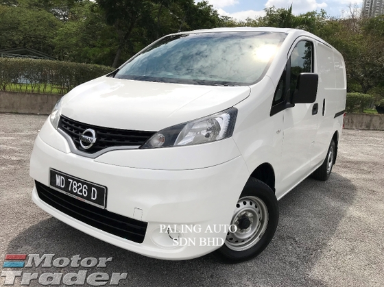 2016 NISSAN NV200 1.6 (m) superb cond. panel van
