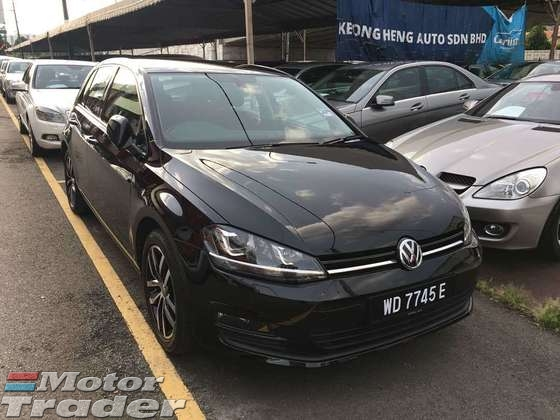 2016 VOLKSWAGEN GOLF 1.4 TSI Turbo MK7 Under Warranty