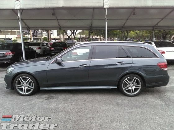 2015 MERCEDES-BENZ E-CLASS E250 AMG WAGON ESTATE SPECIAL SPEC NEW