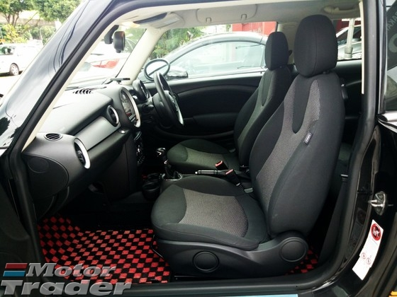 2013 MINI Cooper 1.6 JPN SPEC ( 3 YEAR WARRANTY )