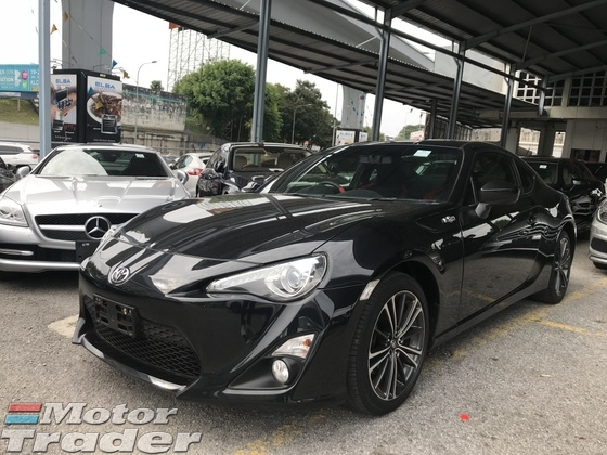 2014 TOYOTA FT-86 GT 86 2.0 MANUAL 6 SPEED 2014 JAPAN UNRE
