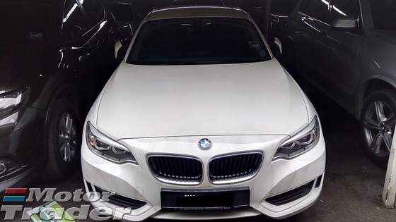 2014 BMW 2 SERIES 220i COUPE