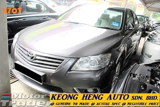 2009 TOYOTA CAMRY FACELIFT 2.4 V 2.4V SEDAN (ACTUAL YR MADE 2009)(GST INLCU)(LOW MILE TIP TOP CONDITION)