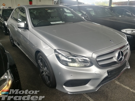2013 MERCEDES-BENZ E-CLASS E200 AMG UK