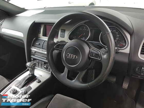2014 AUDI Q7 3.0 S-Line Diesel Unreg Local AP