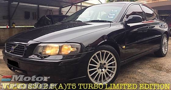 2001 VOLVO S60 VOLVO S60 2.4(A)TURBO LIMITED EDITION