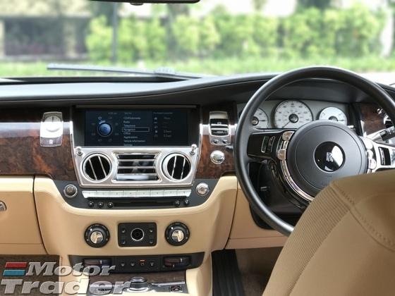 2013 ROLLS-ROYCE GHOST 6.6L V12 Twin Turbo