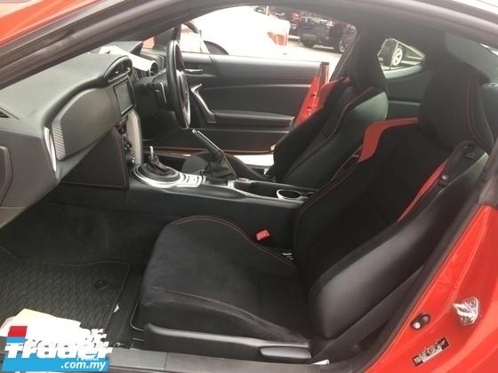 2015 TOYOTA 86 Unreg Toyota GT86 2.0 Paddle shift Camera Sport 6Speed Auto