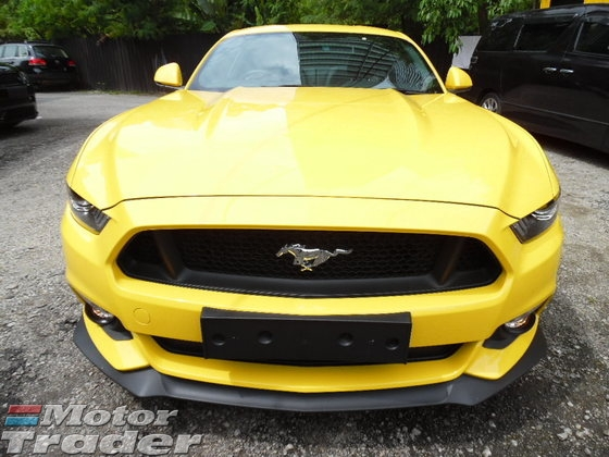 2016 FORD MUSTANG 5.0 GT COUPE V8