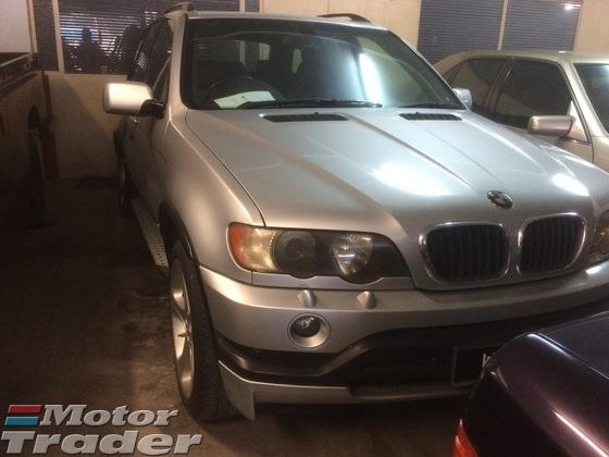 2003 BMW X5 silver