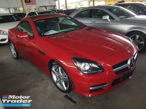 2014 MERCEDES-BENZ SLK SLK200 AMG SPEC PANAROMIC ROOF LOCAL AP UNREG