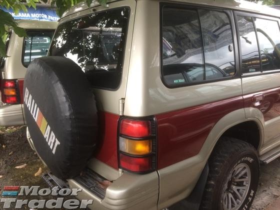 1997 MITSUBISHI PAJERO 4WD