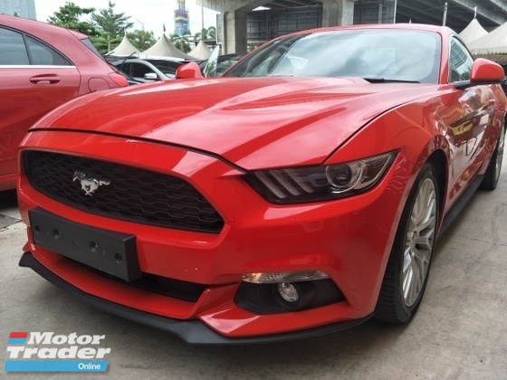 2015 FORD MUSTANG 2.3 MANUAL 6 SPEED ECO BOOST 310 HP