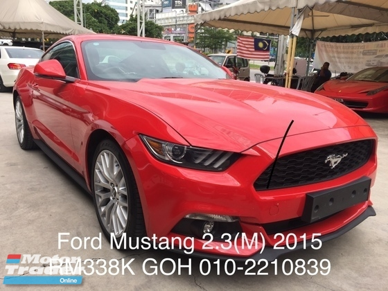 2015 FORD MUSTANG G COUPE