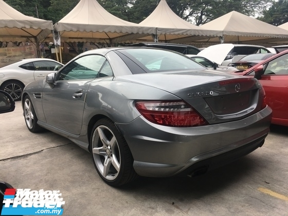 2015 MERCEDES-BENZ SLK Unreg Mercedes Benz SLK200 1.8 AMG Turbo Convetible Top Nice