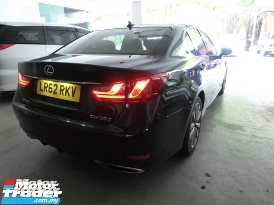 2012 LEXUS GS 2.5 V6 Unreg Reverse Camera Blind Spot Monitoring Offer
