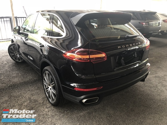 2015 PORSCHE CAYENNE 3.0 Diesel Turbo Unreg New Facelifted Power Boot No SST