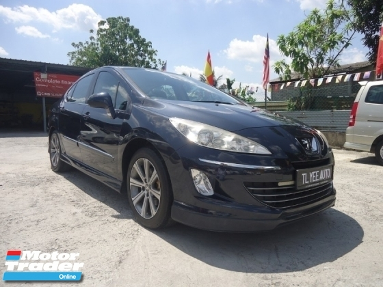2013 PEUGEOT 408 2013 Peugeot 408 Turbo 1.6 (A) FullSpec Warranty 1 Year