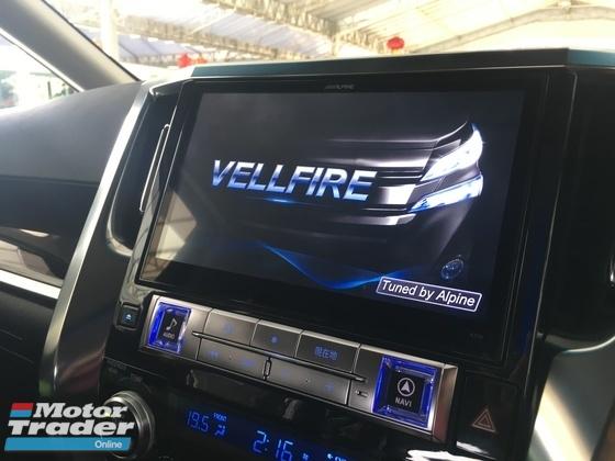 2015 TOYOTA VELLFIRE 2.5 (A) ZG Edition Full Set Alpine Unreg
