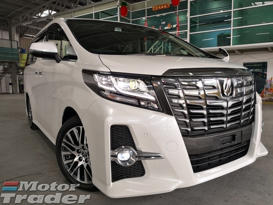 2015 TOYOTA ALPHARD 2.5 SC Sun Roof ALPINE Player