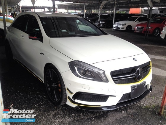 2015 MERCEDES-BENZ A-CLASS A45 AMG YELLOW EDITION 4 MATIC