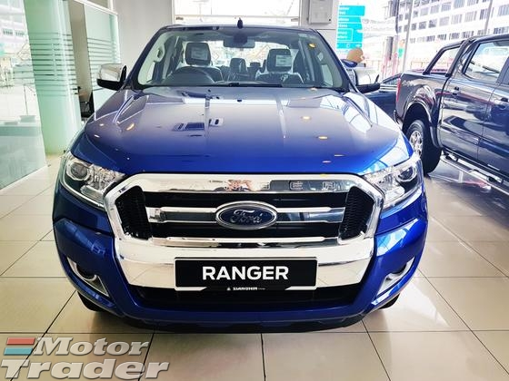 2017 FORD RANGER 2.2 XLT AUTO T7 -BRAND NEW
