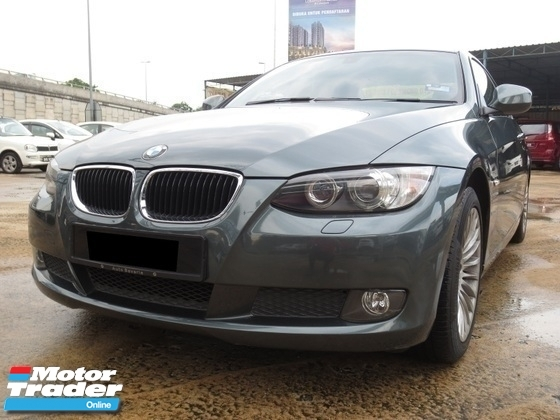 2010 BMW 3 SERIES Tip Top E92
